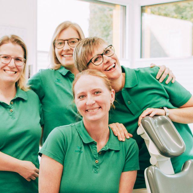 Das Team beim Zahnarzt Laupheim.