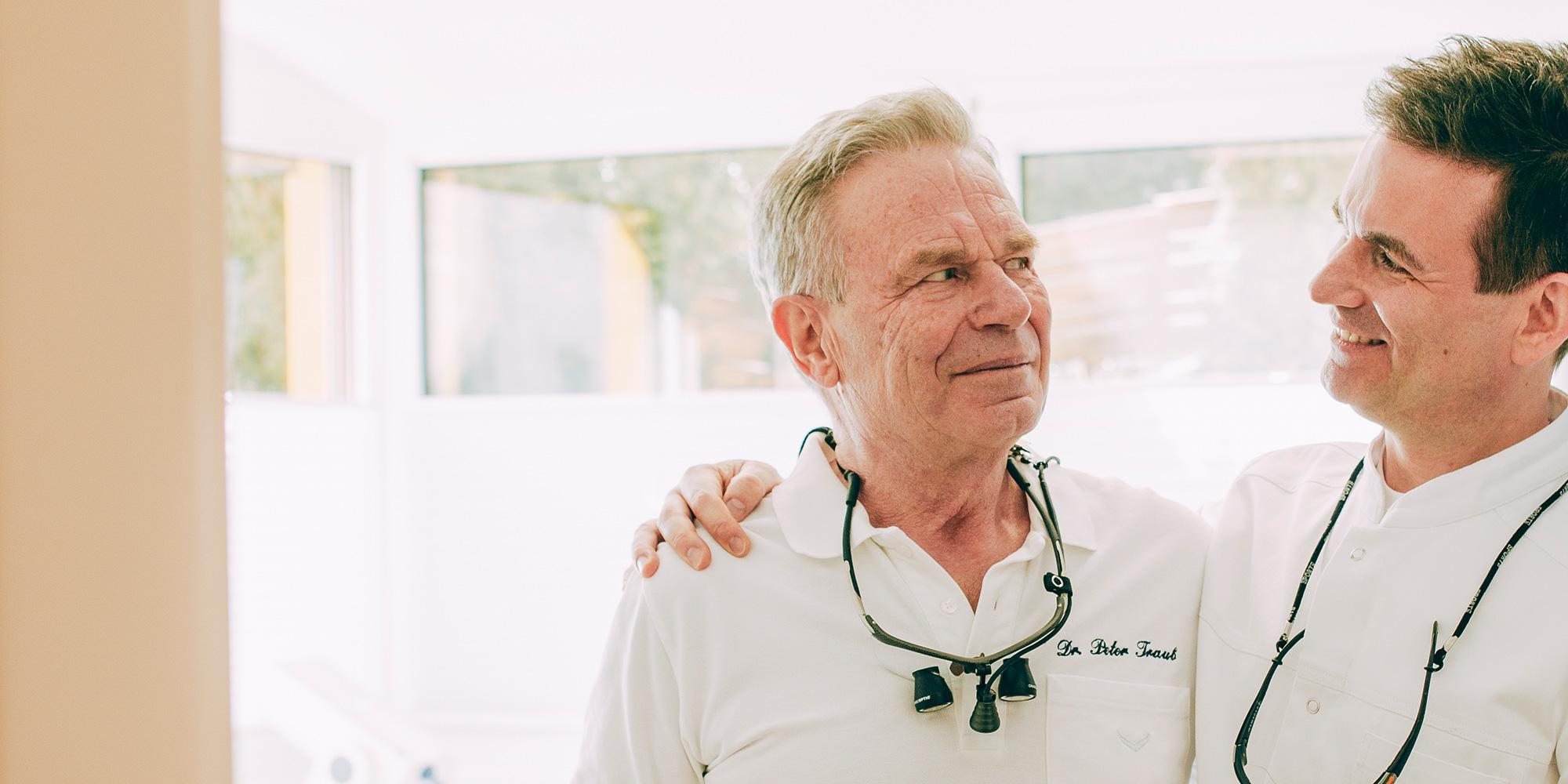 Dr. Peter Traub und Dr. Markus Traub, Zahnärzte Laupheim.